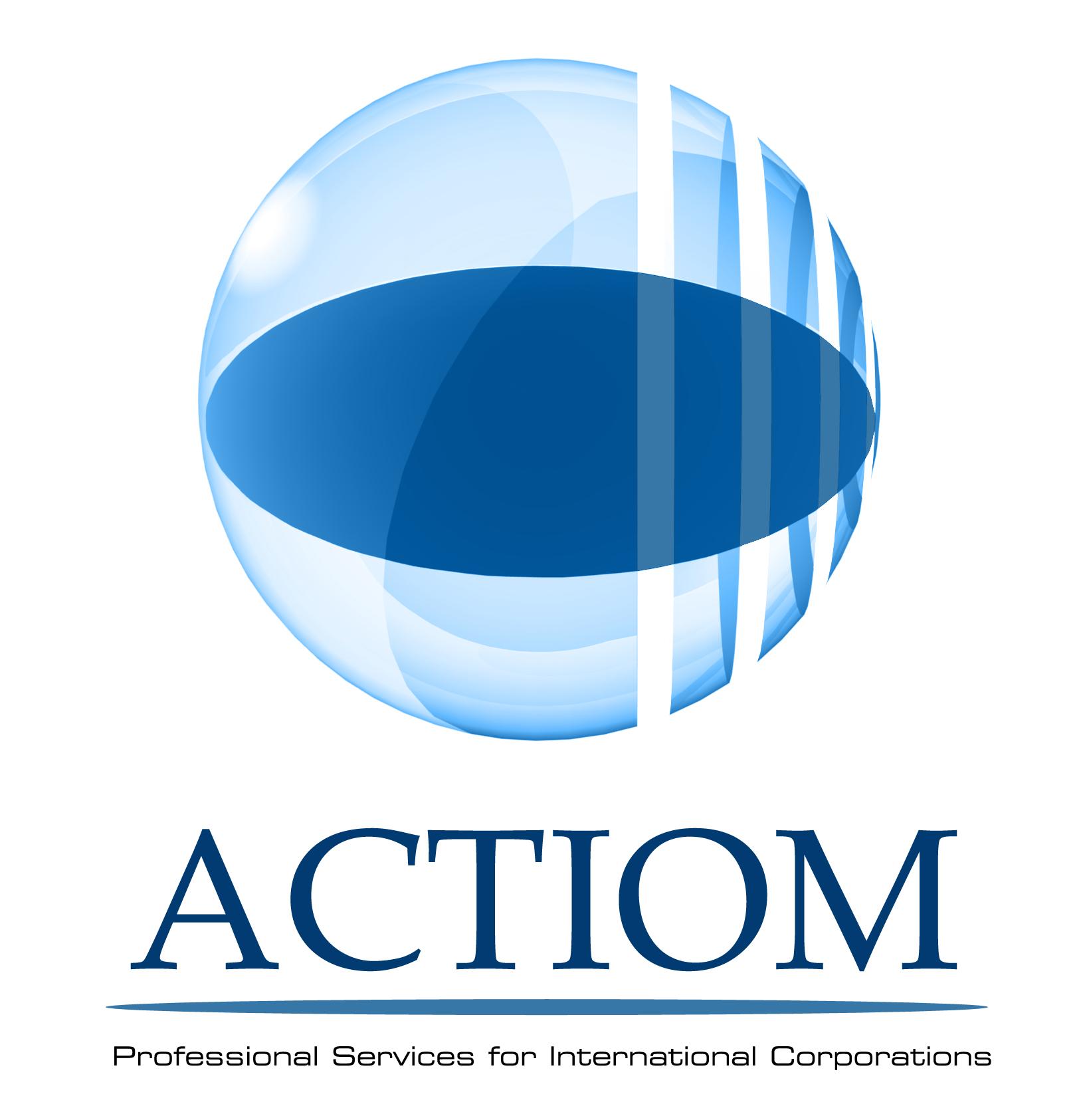 La Societe Actiom Ma Demande De Relooker Son Logo Creer Leur Site Internet Carte Visites Depliants Fardes Cartes Voeux Et Visuels 3d Pour