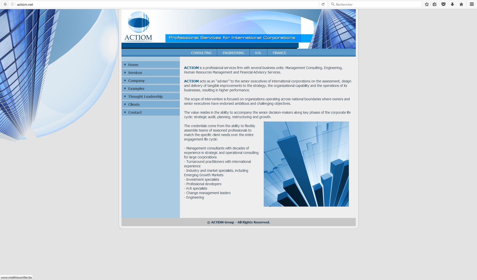 Creation Logo Site Depliants Cartes De Voeux Pour Actiom